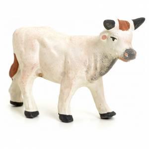 Vache debout pour crèche Napolitaine 8 cm s2