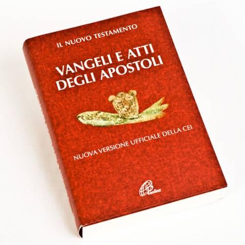 Évangile et Actes des Apôtres,rouge ITALIEN s1