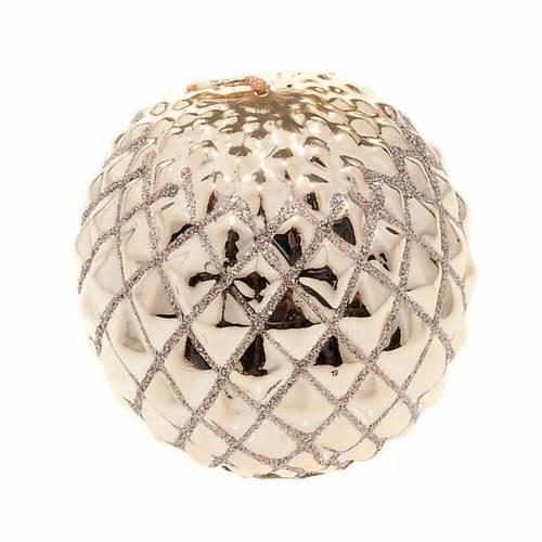 Vela oro Navidad esfera s1