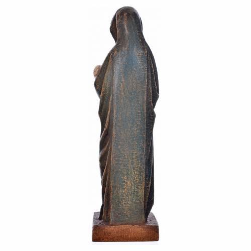 Vergine d'Autun con bambino 15 cm legno Bethléem s3