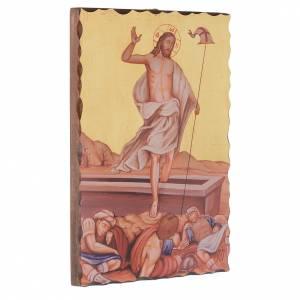 Via Crucis quadretti serigrafati 30x20 cm legno s16