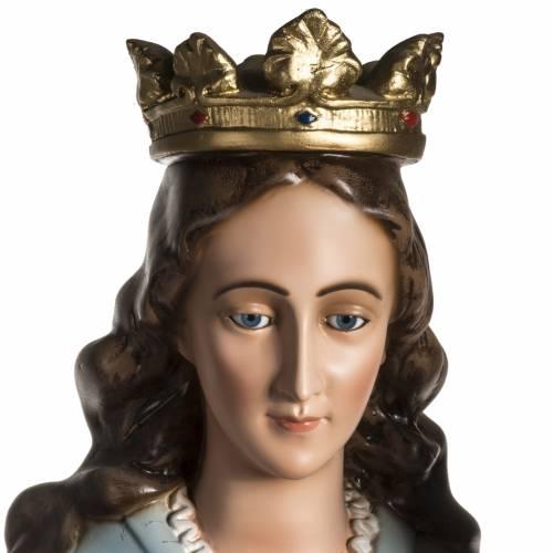 Vierge auxiliatrice résine 130 cm s5