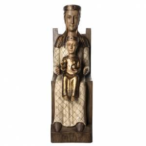 Vierge Catalane 105 cm bois peint Bethléem s1