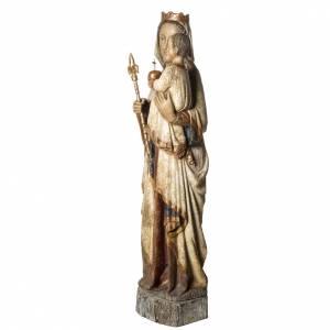 Vierge du Lyonnais statue, 120 cm in painted wood, Bethléem s3