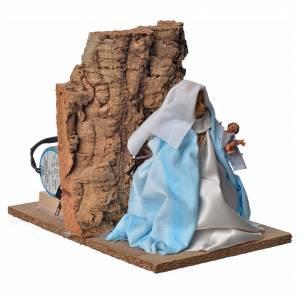 Vierge Marie en mouvement crèche 18cm s3