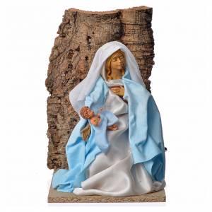 Vierge Marie en mouvement crèche 30cm s1