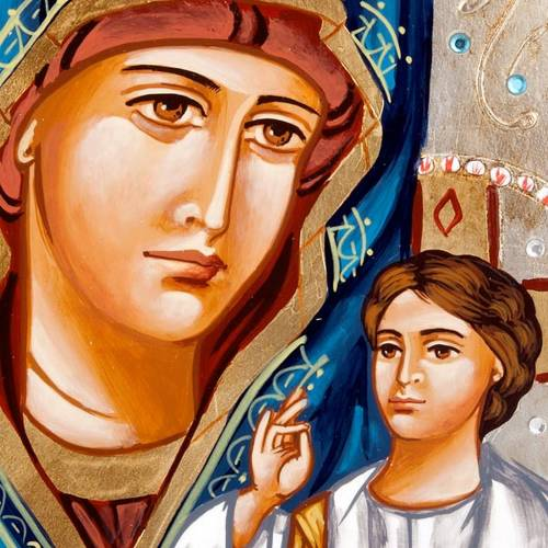 Vierge Odighitria et paillettes s5