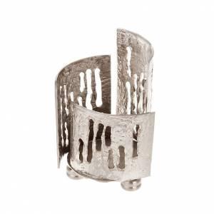 Vigil light holder nickel-plated brass s1