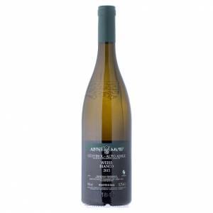 Les vins rouges et blancs: Vin Weiss blanc DOC 2015 Abbaye Muri Gries 750 ml