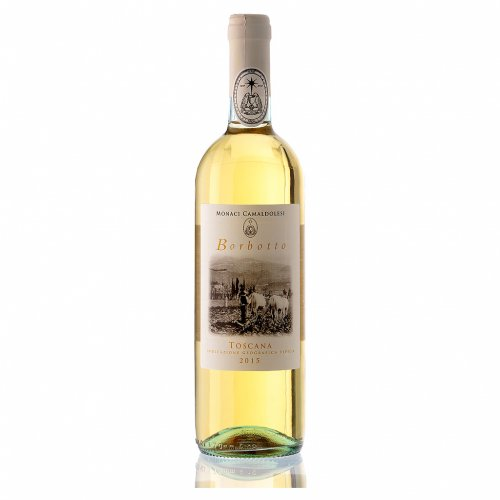 Vino bianco toscano Borbotto 750 ml. 2015 s1