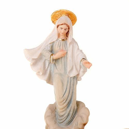 Virgen de Medjugorje portarosario de mesa s2
