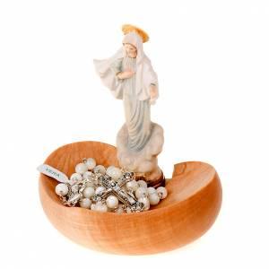 Virgen de Medjugorje portarosario de mesa s3