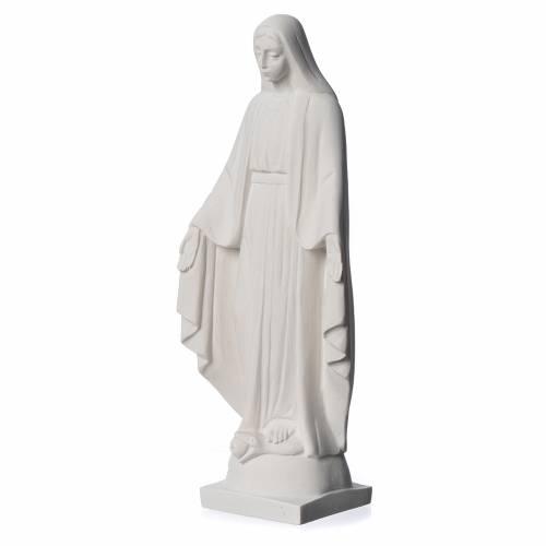 Virgen milagrosa en mármol sintético s3