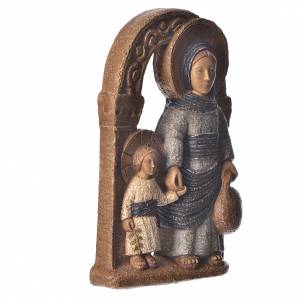 Virgin of Nazareth, blue mantle 35cm, Bethléem stone s3