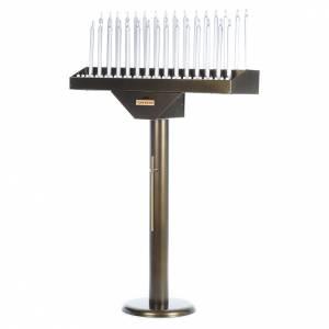 Votivo elettrico offerte a 31 candele lampadine 12 V pulsanti s3