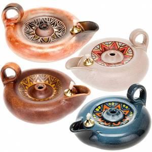 Lampen und Lanternen: Weihlampe aus Keramik