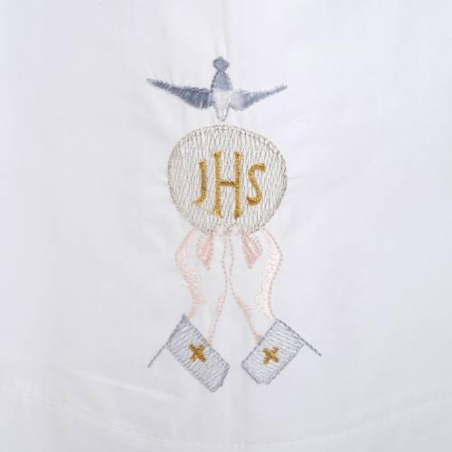 White alb cotton IHS, host, Holy Spirit s2