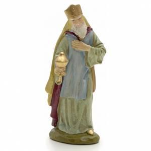 Nativity Scene figurines: White Wise King 12cm, resin