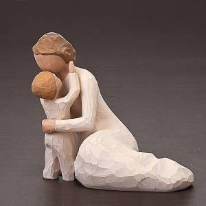 Willow Tree statues: Willow Tree - Child's Touch, enfant et sa mère