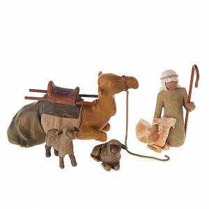 Willow Tree - Shepherd and Stable animals (berger animaux) s1