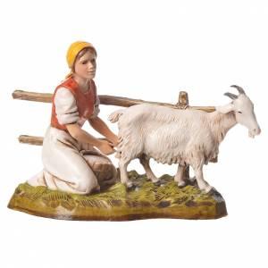 Women and trades 4 nativity figurines, 10cm Moranduzzo s5