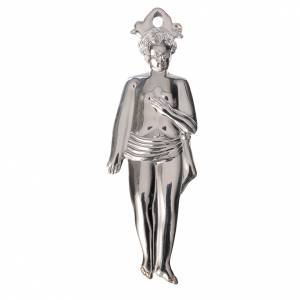 Wota błagalne i dziękczynne: Wotum chłopiec srebro 925 lub metal 12.5 cm