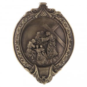 15 Stations of the cross wood paste and bronze s9