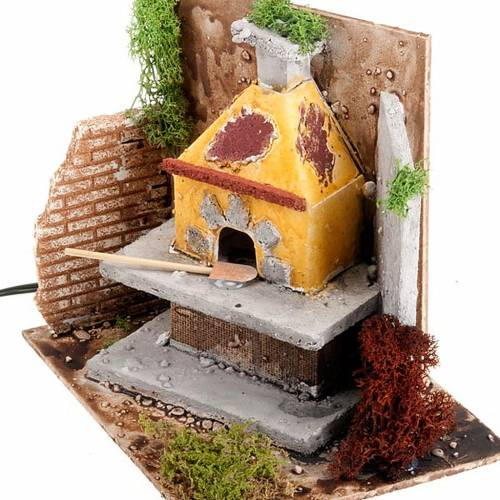 Accessory for do-it-yourself nativity sets: stove with chimney s3