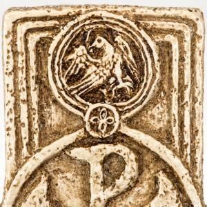 Acquasantiera Bethléem pietra croce s5