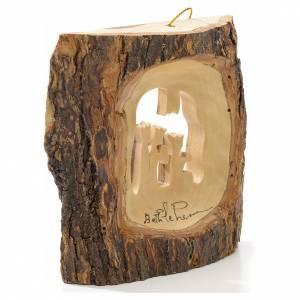 Adorno árbol olivo Tierra Santa Tronco Reyes Magos s2