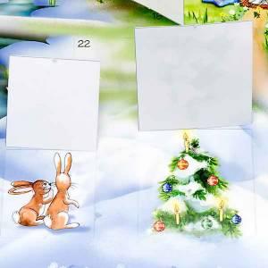 Kalender und andere Bücher: Adventskalender: typisch am Weihanchten