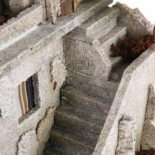 Alminar con escalera iluminado: ambientación pesebre s7