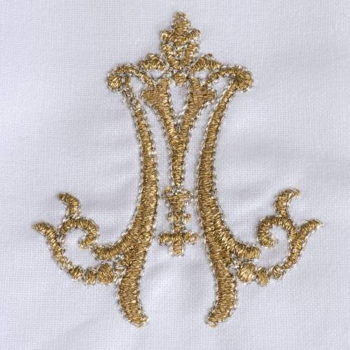 Altar linens set of 4, golden embroideries s4