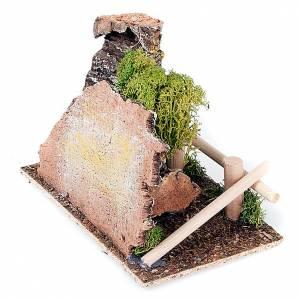 Ambientazione presepe staccionata e albero s3