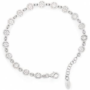 AMEN bracelets: Amen bracelet with Our Father cross in sterling silver