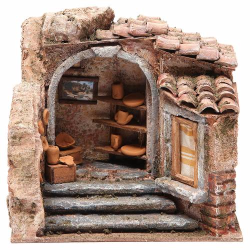 Amphoras shop for nativity 10cm s1
