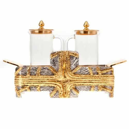Ampolline croce oro argento s4