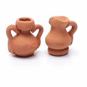 Anfora ceramica assortita h reale 1,5 cm s2