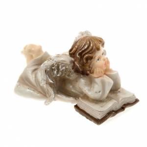 ange allongé avec livre décoration de noel s2