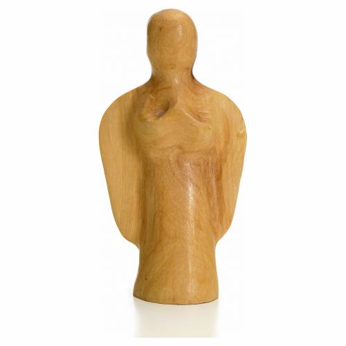Angel in Holy Land olive wood s1