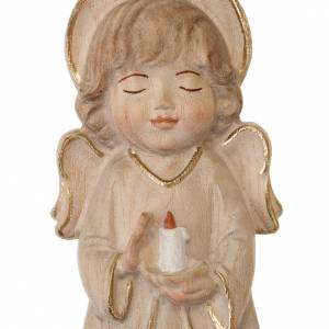 Guardian Angel: Angel with candle and pink dress