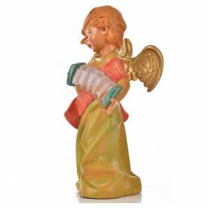 Angeli: Angelo con fisarmonica Fontanini cm 20.5
