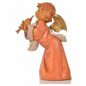Angeli: Angelo con flauto Fontanini cm 20.5