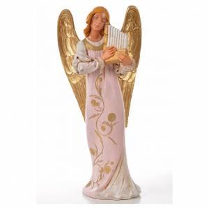 Angeli: Angelo con organino Fontanini cm 30