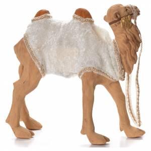 Animated camel 24cm Neapolitan Nativity s2