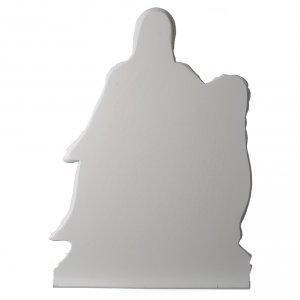 Applique Vierge de Pitié marbre 65-90 cm s4