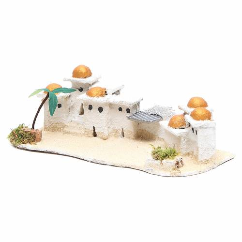 Arabian house for nativities, assorted models measuring 9x23x11cm s3