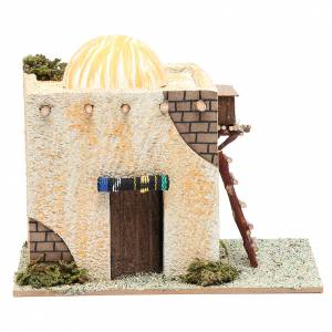 Arabian style house with ladder measuring 22x13x17cm s1