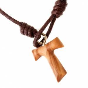 Sonstige Armbände: Armband Knoten und Tau-Kreuz