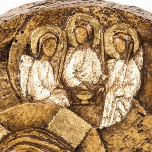 Assumption bas-relief in stone, Bethléem 5